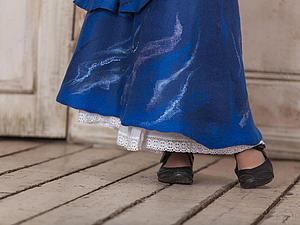 Юбка из войлока (армированный войлок)   Ярмарка Мастеров - ручная работа, handmade
