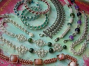 Розыгрыш кольчужных украшений для покупателей   Ярмарка Мастеров - ручная работа, handmade