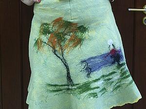 Валяем  юбку !!! | Ярмарка Мастеров - ручная работа, handmade