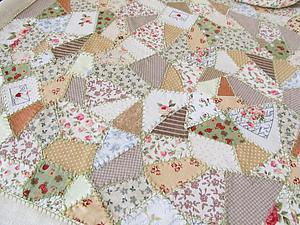 Салфетка из обрезков ткани своими руками | Ярмарка Мастеров - ручная работа, handmade