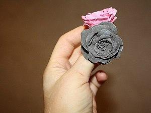 Лепка ароматизированных украшений в виде легких роз. Ярмарка Мастеров - ручная работа, handmade.