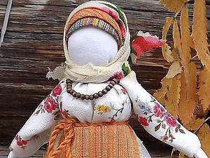 "Кукла ""Рябинка"". Мастер-класс. Ярмарка Мастеров - ручная работа, handmade."