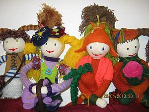 Кукла вязаная | Ярмарка Мастеров - ручная работа, handmade