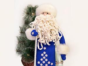 Шьем Деда Мороза — чехол для шампанского. Ярмарка Мастеров - ручная работа, handmade.