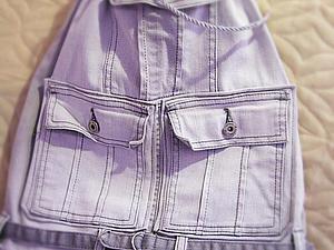 Шьем рюкзачок из старых джинсов. Ярмарка Мастеров - ручная работа, handmade.