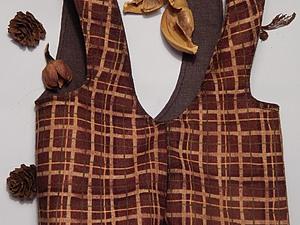 Шьем комбинезон для теддика. Ярмарка Мастеров - ручная работа, handmade.