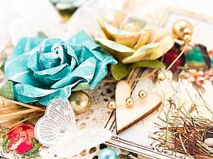 Новая коллекция открыток и цветов к 8 марта. | Ярмарка Мастеров - ручная работа, handmade