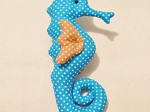 Шьем морского конька. Ярмарка Мастеров - ручная работа, handmade.