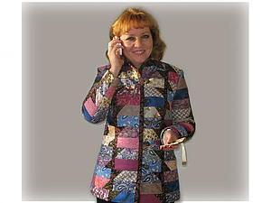 """Лоскутный жакет-куртка """"Изабелла"""". Часть 3. Воротниково-рукавная. Ярмарка Мастеров - ручная работа, handmade."""