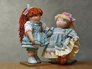 Европейская традиционная кукла | Ярмарка Мастеров - ручная работа, handmade