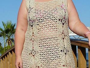 Вязаное платье   Ярмарка Мастеров - ручная работа, handmade