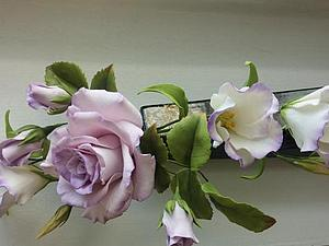 Курсы по сахарным цветам композиция с розой | Ярмарка Мастеров - ручная работа, handmade