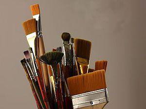 Материалы для живописи. Кисти.. Ярмарка Мастеров - ручная работа, handmade.