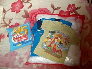 Любимые подушечки из нелюбимых футболок за один вечер | Ярмарка Мастеров - ручная работа, handmade