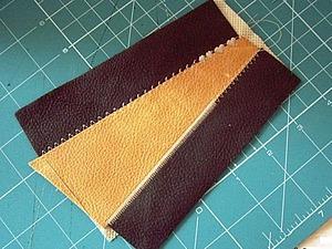 Как сшить кожу встык | Ярмарка Мастеров - ручная работа, handmade