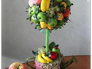 Декоративные топиарии или деревья счастья | Ярмарка Мастеров - ручная работа, handmade
