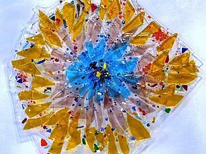 Фьюзинг. Декорируем пространство с помощью цветного стекла. Ярмарка Мастеров - ручная работа, handmade.