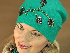 Аукцион на шапочку для весны..   Ярмарка Мастеров - ручная работа, handmade
