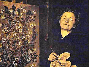 Серафина из Санлиса — художник святого сердца | Ярмарка Мастеров - ручная работа, handmade