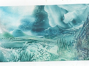 Энкаустика апреля- малые формы 10х13 и 13х17 - 2 серия | Ярмарка Мастеров - ручная работа, handmade