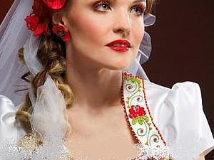 Красивые платья в украинском стиле | Ярмарка Мастеров - ручная работа, handmade