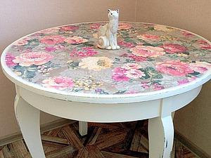 Новая жизнь старого стола. Ярмарка Мастеров - ручная работа, handmade.