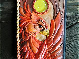 Делаем из полимерной глины оригинальную обложку для блокнота. Ярмарка Мастеров - ручная работа, handmade.
