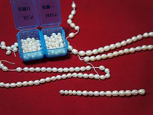 Тестируем различные виды жемчуга. Ярмарка Мастеров - ручная работа, handmade.