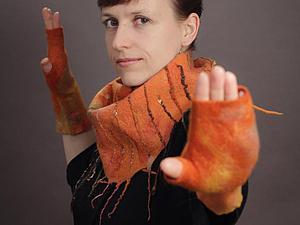 Осенние шарфики - кто какие любит? | Ярмарка Мастеров - ручная работа, handmade