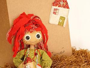 Кукла-домовушка Настасья за 50 рублей в помощь Никитке! | Ярмарка Мастеров - ручная работа, handmade