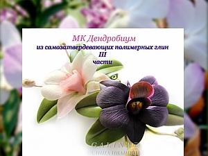 Видео Мк Орхидея Дендробиум. Уже в продаже!   Ярмарка Мастеров - ручная работа, handmade