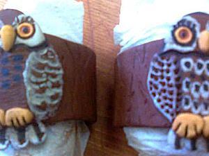 """Мастер-класс: кольцо для салфетки """"В гостях у тетушки Совы"""". Часть 1. Ярмарка Мастеров - ручная работа, handmade."""