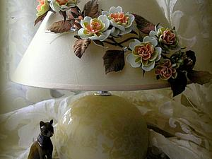 Декор для абажура из фоамирана | Ярмарка Мастеров - ручная работа, handmade