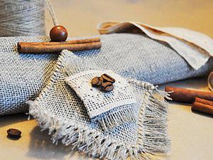 Мастер-класс: кофейный аромат и необычный дизайн интерьерной подвески саше в стиле бохо. Ярмарка Мастеров - ручная работа, handmade.
