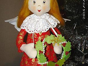 Мастерим рождественского ангела. Ярмарка Мастеров - ручная работа, handmade.