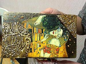 Шкатулка  по мотивам работ Г.Климта  - авторский МК Натальи Полех!   Ярмарка Мастеров - ручная работа, handmade
