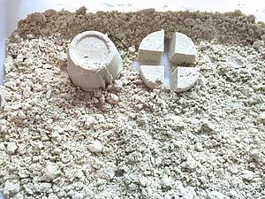 Как быстро и просто сделать лунный песок для лепки. Ярмарка Мастеров - ручная работа, handmade.
