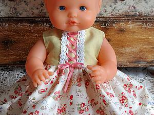 Шьем платье для любимой куклы. Ярмарка Мастеров - ручная работа, handmade.