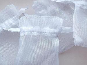 Расценки на мешочки из органзы. | Ярмарка Мастеров - ручная работа, handmade