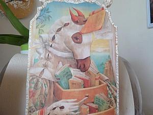 Декупаж доски. Работаем с распечатанной картинкой. Ярмарка Мастеров - ручная работа, handmade.