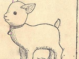 Жил-был у бабушки серенький козлик..... ( выкройка  1956г)   Ярмарка Мастеров - ручная работа, handmade