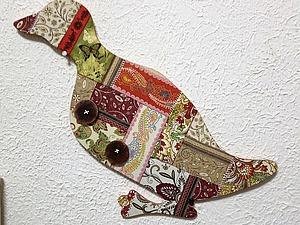 «Лоскутный Гусь» салфеточный пэчворк и декор в смежных техниках | Ярмарка Мастеров - ручная работа, handmade