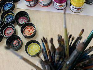 Комплексный мастер-класс по батику в Йошкар-Оле. | Ярмарка Мастеров - ручная работа, handmade