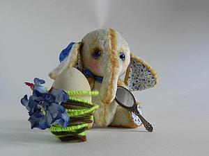 Делаем подставку-гнездо под Пасхальное Яйцо. Ярмарка Мастеров - ручная работа, handmade.