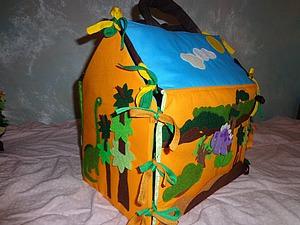 Шьем развивающий домик с динозаврами. Ярмарка Мастеров - ручная работа, handmade.