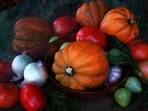 ... Вдохновлённая яркими красками осеннего урожая... | Ярмарка Мастеров - ручная работа, handmade
