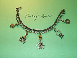 Амулет-браслет на удачу в сделках «Путь к сокровищам» от Шувани | Ярмарка Мастеров - ручная работа, handmade