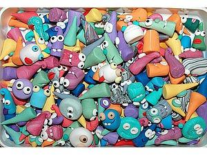Делаем веселые фишки из полимерной глины для настольных игр. Ярмарка Мастеров - ручная работа, handmade.
