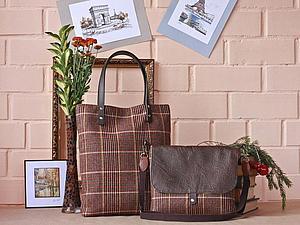 Приглашаю на мастер класс в Москве по сумочке из коллекции ТВИД   Ярмарка Мастеров - ручная работа, handmade