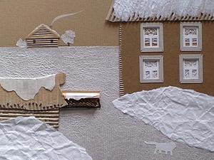 Бумажные штуки. Белый кот.   Ярмарка Мастеров - ручная работа, handmade